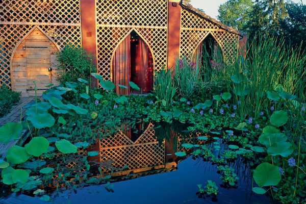 Légende obligatoire: Jardin des Paradis à Cordes sur Ciel