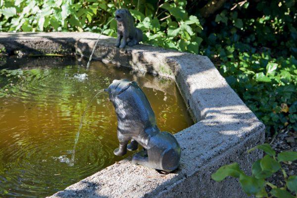 La fontainePaysagistes: Ossart-MaurièresLe verger de Déduit (15)