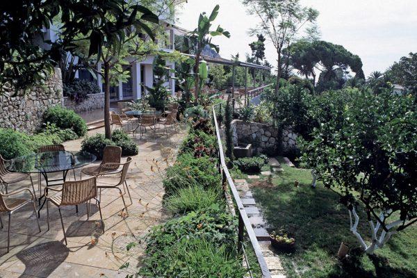 Jardin de l'hotel MirazurPaysagistes: Ossart-MaurièresMenton France